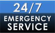24/7 emergency sevice